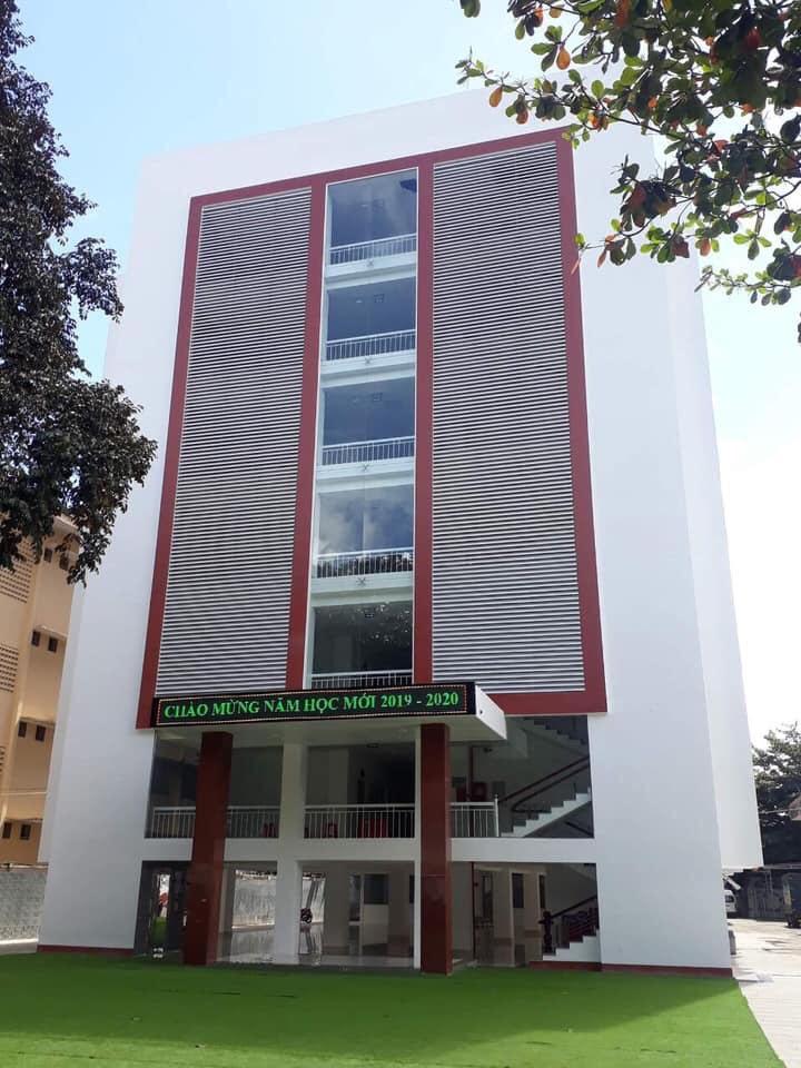 Trường Victory Buôn Ma Thuột tin tưởng Sử dụng bột trét tường Hoàn Cầu xây dựng trường